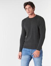 Oblačila Moški Puloverji Jack & Jones JJEBASIC Siva