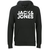 Oblačila Moški Puloverji Jack & Jones JJECORP LOGO Črna