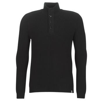 Oblačila Moški Puloverji Jack & Jones JCOWELLINGTON Črna