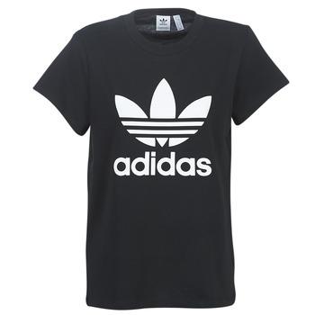 Oblačila Ženske Majice s kratkimi rokavi adidas Originals BOYFRIEND TEE Črna
