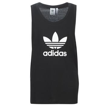 Oblačila Moški Majice brez rokavov adidas Originals TREFOIL TANK Črna