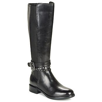 Čevlji  Ženske Mestni škornji    André NUAGE Črna