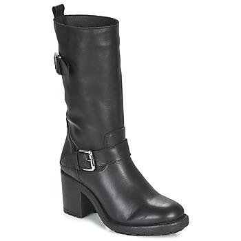 Čevlji  Ženske Mestni škornji    André NASHVILLE Črna