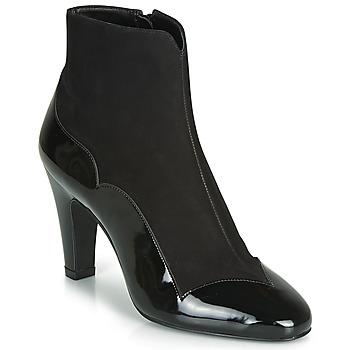 Čevlji  Ženske Gležnjarji André LA ROMANTIQUE Črna
