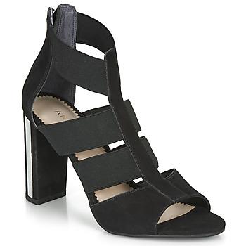 Čevlji  Ženske Sandali & Odprti čevlji André LA  DETERMINEE Črna