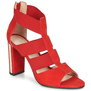 Čevlji  Ženske Sandali & Odprti čevlji André LA DETERMINEE Rdeča