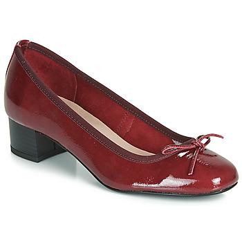 Čevlji  Ženske Balerinke André POEME Rdeča