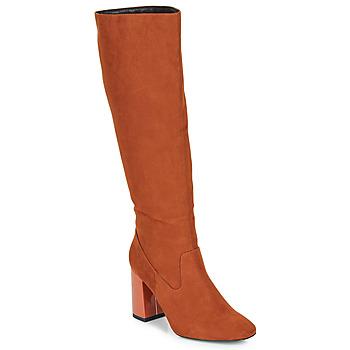 Čevlji  Ženske Mestni škornji    André LUXURY Oranžna