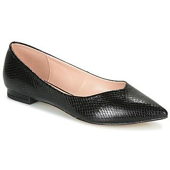 Čevlji  Ženske Balerinke André LISERON Črna / Motiv