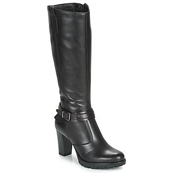 Čevlji  Ženske Mestni škornji    André NADA Črna