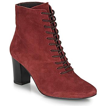 Čevlji  Ženske Gležnjarji André MELUSINE Rdeča