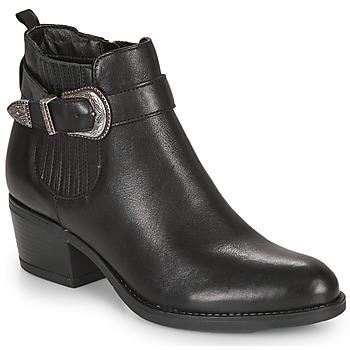 Čevlji  Ženske Gležnjarji André MADAISY Črna