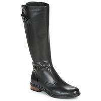 Čevlji  Ženske Mestni škornji    André MAPEL Črna