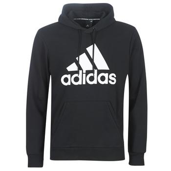 Oblačila Moški Puloverji adidas Performance MH BOS PO FT Črna