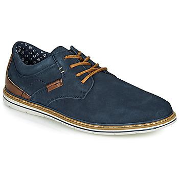 Čevlji  Moški Čevlji Derby André MARTIAL Modra