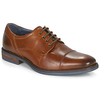 Čevlji  Moški Čevlji Derby André BYRON Cognac