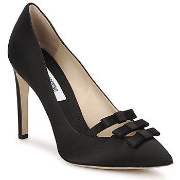 Čevlji  Ženske Salonarji Moschino MA1012 Črna