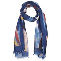 Tekstilni dodatki Ženske Šali & Rute André PLUMA Modra