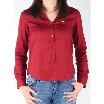 Oblačila Ženske Srajce & Bluze Lee L47QLCPR burgundy