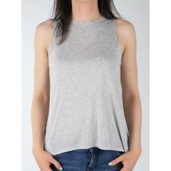 Oblačila Ženske Majice brez rokavov Lee Tank L40MRB37 grey