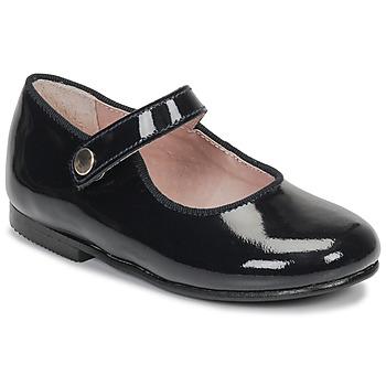 Čevlji  Deklice Balerinke André MADDI Modra