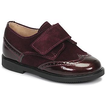 Čevlji  Deklice Čevlji Derby André JUNE Bordo