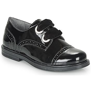 Čevlji  Deklice Čevlji Derby André ALANA Črna