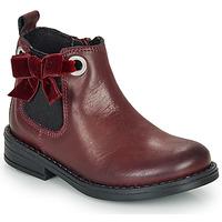 Čevlji  Deklice Polškornji André VAL Bordo