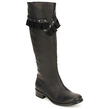 Čevlji  Ženske Mestni škornji    Moschino Cheap & CHIC CA2601 Črna