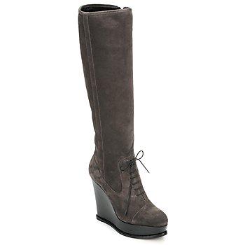 Čevlji  Ženske Mestni škornji    Moschino Cheap & CHIC CA2603 Taupe