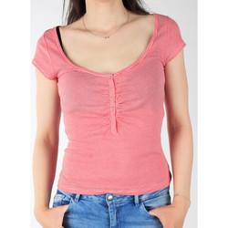 Oblačila Ženske Majice s kratkimi rokavi Lee L428CGXX red, white