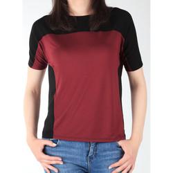 Oblačila Ženske Majice s kratkimi rokavi Lee Color Block T L40XJMLL black, burgundy