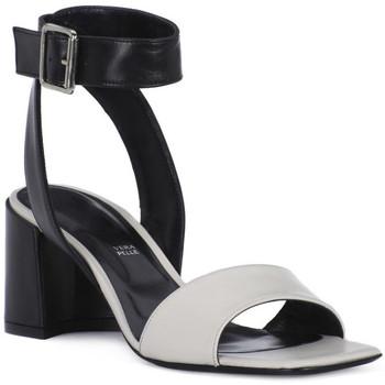 Čevlji  Ženske Sandali & Odprti čevlji Priv Lab MILK SANDALO Bianco