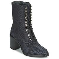 Čevlji  Ženske Gležnjarji Jeffrey Campbell ADIALE Črna