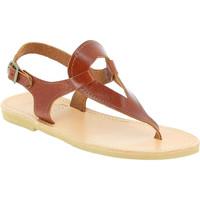 Čevlji  Ženske Sandali & Odprti čevlji Attica Sandals ARTEMIS CALF DK-BROWN marrone