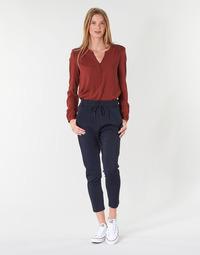 Oblačila Ženske Hlače Chino / Carrot Only ONLPOPTRASH Modra