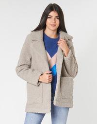 Oblačila Ženske Plašči Only ONLFILIPPA Siva