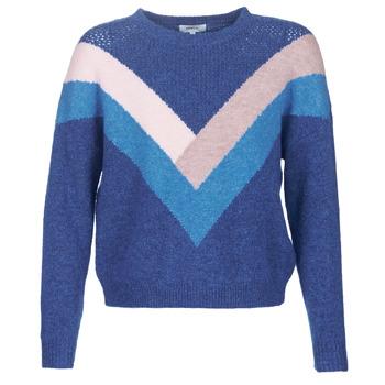 Oblačila Ženske Puloverji Only ONLFCORA Modra