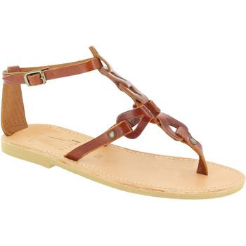Čevlji  Ženske Sandali & Odprti čevlji Attica Sandals GAIA CALF DK-BROWN marrone