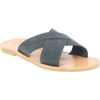 Čevlji  Moški Natikači Attica Sandals ORION NUBUCK BLACK nero