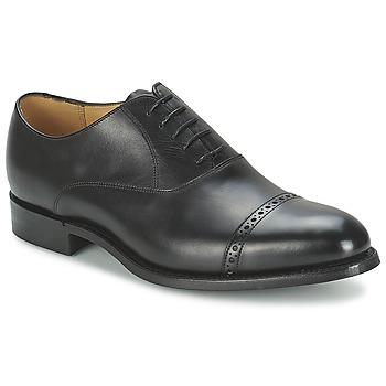 Čevlji  Moški Čevlji Richelieu Barker BURFORD Črna