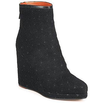 Čevlji  Ženske Gležnjarji Missoni TONSU Črna