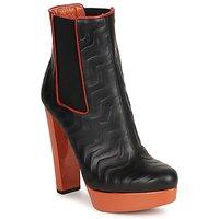 Čevlji  Ženske Gležnjarji Missoni STAMP Črna