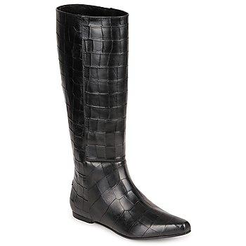 Čevlji  Ženske Mestni škornji    Roberto Cavalli SPS749 Črna
