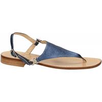 Čevlji  Ženske Sandali & Odprti čevlji Paolo Ferrara CUOIO NATURALE blue