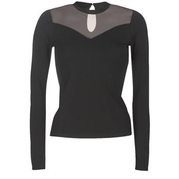 Oblačila Ženske Topi & Bluze Moony Mood LAMELI Črna