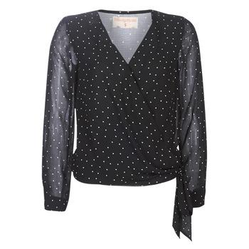 Oblačila Ženske Topi & Bluze Moony Mood LUKE Črna
