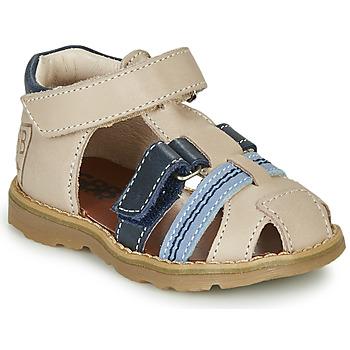 Čevlji  Dečki Sandali & Odprti čevlji GBB DIMMI Bež / Modra
