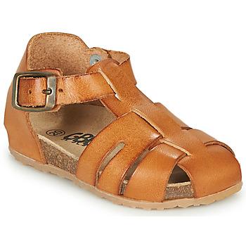 Čevlji  Dečki Sandali & Odprti čevlji GBB FREDERICO Cognac