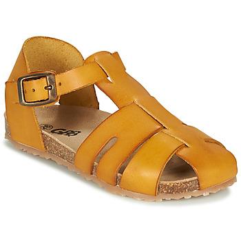 Čevlji  Dečki Sandali & Odprti čevlji GBB FREDERICO Gorčica